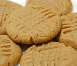recipe peanut butter cookies